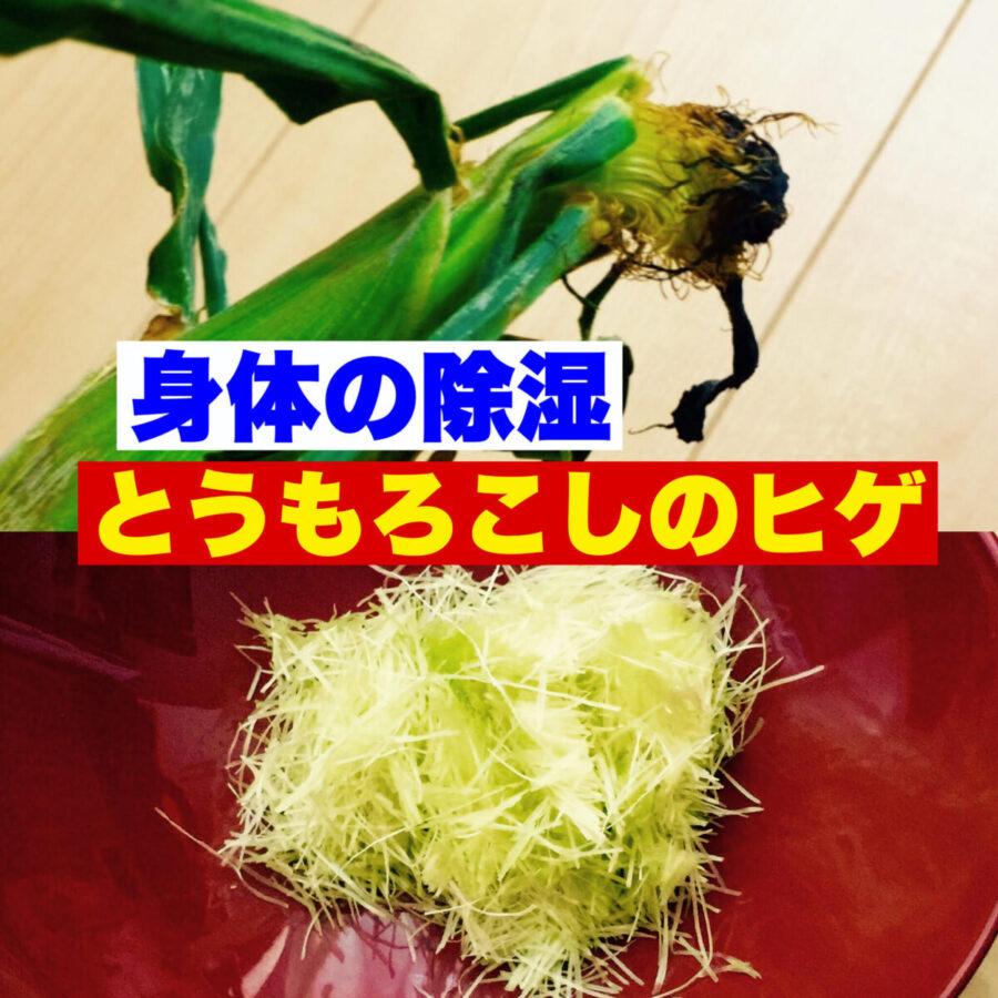 【薬膳のちえ★11 ~ヒゲを使おう!】